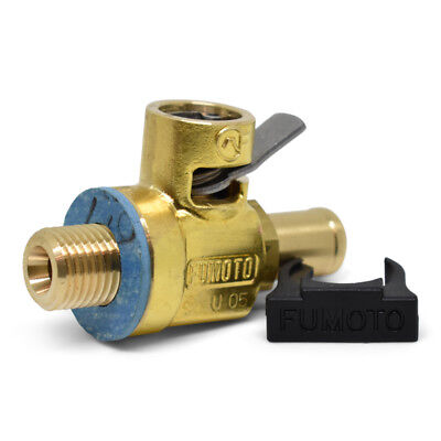 F124N (10mm-1.25) Long Nipple Fumoto Oil Drain Valve with Lever Clip