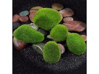 5x Artificial Simulation Moss Ball Grass Aquarium Fish Tank Decor Decor