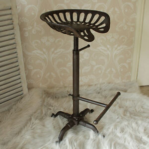 si ge de tracteur tabouret de bar cuisine club caf bar si ges pivotant r glable ebay. Black Bedroom Furniture Sets. Home Design Ideas