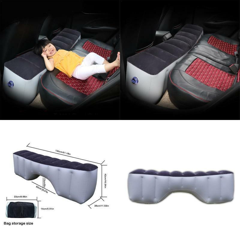Car Bed Car Mattress Inflatable Back Seat Gap Pad Air Bed Cu
