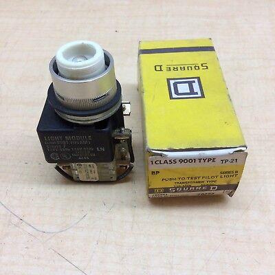 Square D Tp-21 Push To Test Pilot Light