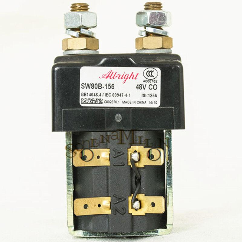 Albright SW80B-156 Contactor 48V For Curtis ZAPI Controller Forklift