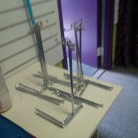 Metal Accessories Stands, Small Hangers and Baskets