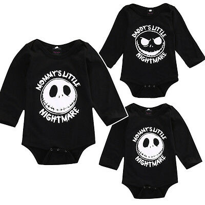 US Halloween Newborn Kids Baby Boy Girl Romper Bodysuit Playsuit Outfit Clothes - Newborn Halloween Outfit