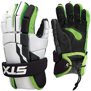 STX CELL 100 LACROSSE GLOVES - LARGE