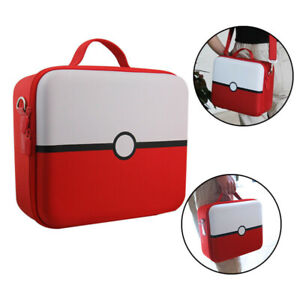 FOR NINTENDO SWITCH CARRY CASE BAG WITH FREE POKEBALL CASE