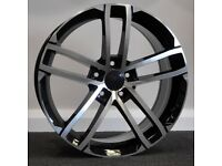 "18"" GTD Style Alloy Wheels. Suit Seat Leon, Audi A3. VW Passat, Jetta, Golf MK5, MK6, MK7,Caddy"