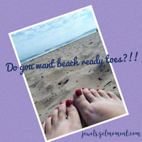 Do you want beach ready toes!