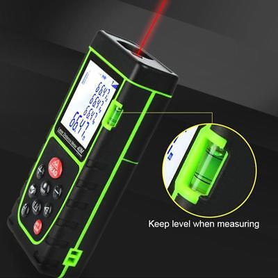 40m Digital Handheld Meter Laser Distance Range Finder Measure Diastimeter Tool
