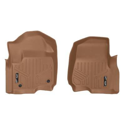 Maxliner 2017 Ford F-250 F-350 Crew Cab SuperCab Floor Mats Only First Row Tan