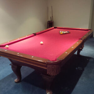 Brunswick Slate Pool Table