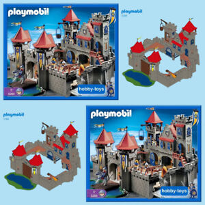 PLAYMOBIL - 3268 Knight's Empire Castle & Dragon Double set