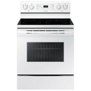 "Samsung NE59M4320SW 30"" Electric Range With Self Clean and Conve"