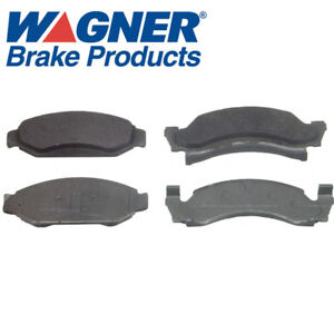 Ford Wagner ThermoQuiet Semi-Metallic Disc brake Pad Set, Front