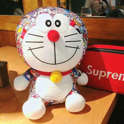 2018 Uniqlo Doraemon X Takashi Murakami Limited Plush Doll Stuffed Toy 35Cm New