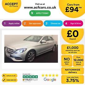 Mercedes-Benz C250 FROM £94 PER WEEK!