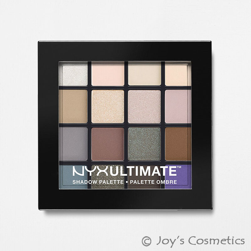 "1 NYX Ultimate Shadow Palette Eye "" USP02 - Cool Neutrals """