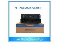 Original Zgemma Star S Satellite reciever Box Linux Enigma S2 Cloud ibox Openbox Skybox vu plus