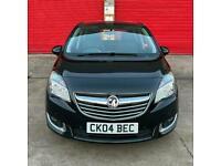 CHEAP 2014 64 Vauxhall Meriva 1.4i Tech Line 5dr 1 YEAR MOT