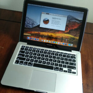 "13"" MacBook Pro (mid 2010 model) running High Sierra OS"