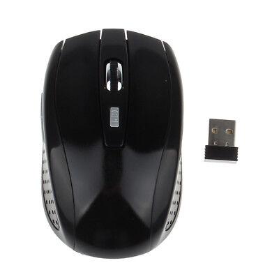 Optische Maus ohne Kabel Drahtlos Compact USB Fürs Notebook Pc Computer 1600 Dpi