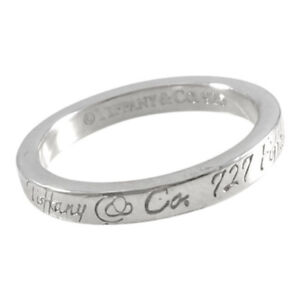 Tiffany & Co. Notes Band Ring -Size 7