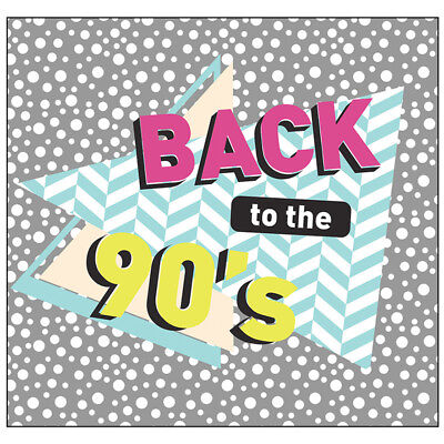 Party Standups (90s PARTY BACKDROP Photo Background CARDBOARD CUTOUT Standups Standees)