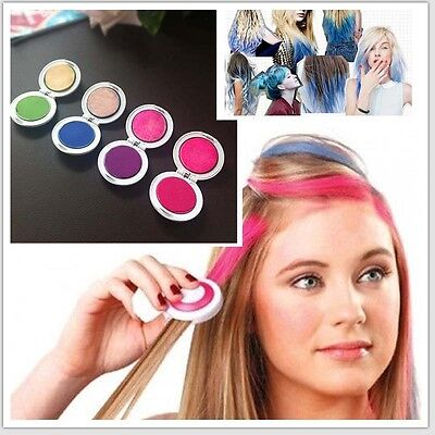Fashion Girl Hair Chalk Disk Dye Set Temporary Disposable Party Club for sale  Shipping to Ireland