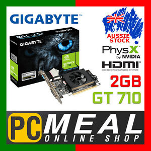 GIGABYTE-nVIDIA-GeForce-GT710-2GB-Video-Card-Gaming-Graphics-HDMI-Low-Profile