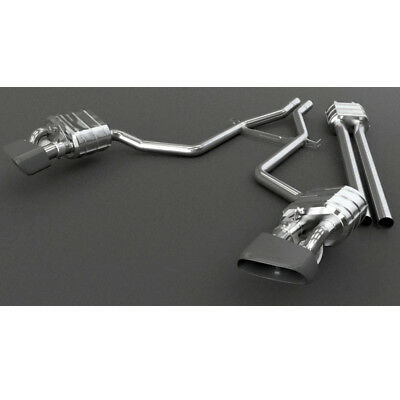 Capristo Porsche Panamera V8 S Valved Exhaust System Long & Mid-Pipes No Remote