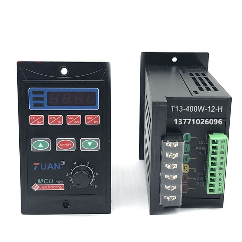 750W AC110/220V Single Phase Frequency Converter 1HP VFD 3 Phase Output 110/220V