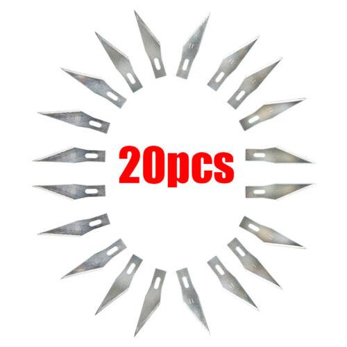 20 pcs Blades #11 Exacto Knife Style x-acto Hobby For Multi