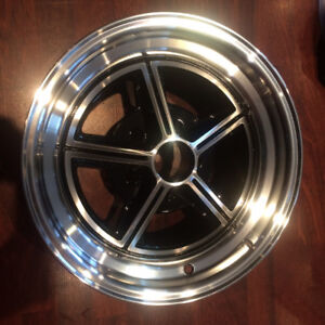 NEW ALUMINUM WHEELS, VINTAGE CARS, FORD, MOPAR, GM, DISC BRAKE