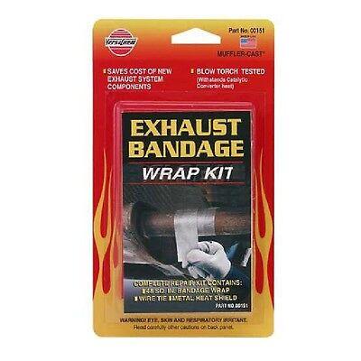 Versachem Exhaust Bandage Kit High Heat Repairs Tailpipe Manifold Or Exhaust