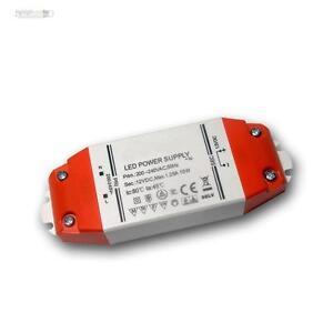 Transformador led 12v dc 15w evg controlador fuente de for Transformador led 12v