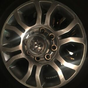 DODGE 8 BOLT RIMS Moose Jaw Regina Area image 1
