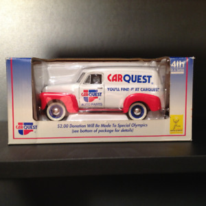 1952 Chevy Panel Delivery coin bank Car Quest collectable in box