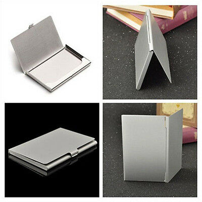 Waterproof Aluminum Metal Business Id Credit Card Wallet Holder Case Hot Sale
