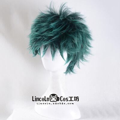 My Boku no Hero Academia Midoriya Izuku anime Costume Cosplay Hair Wig +CAP