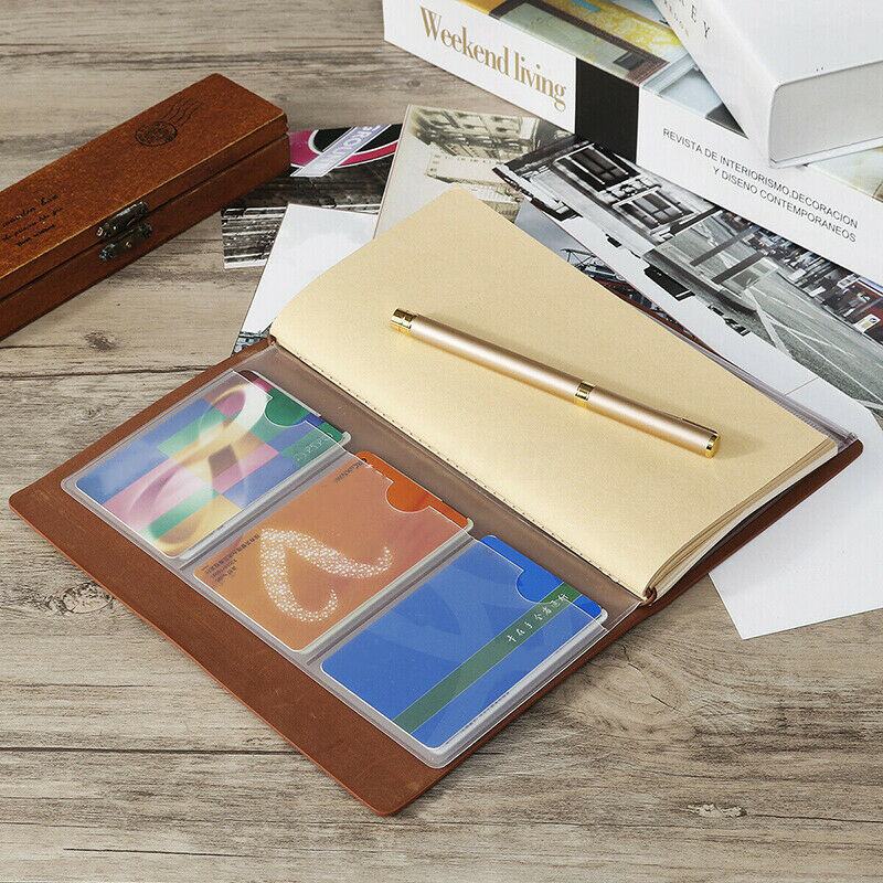 To My Granddaughter Vintage Engraved Leather Journal Notebook Travel Diary Gift