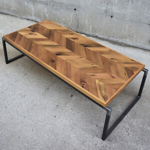 Reclaimed Wood & Live Edge Coffee Tables