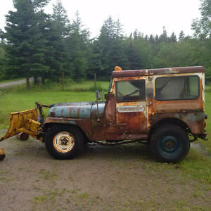 1962 Jeep CJ Coupe (2 door)