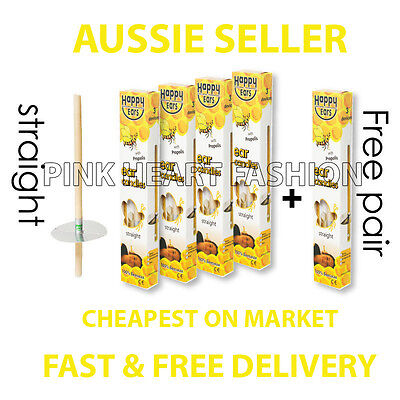 NEW HAPPY EAR CANDLES SALE 4 + 1 PAIRS ANCIENT