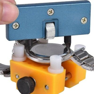 US Watch Back Case Cover Opener Remover Holder Wrench-Repair Kit Adjustable (Open Watch Case)