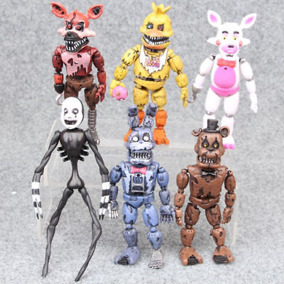 6PCS Five Nights at Freddy's Action Figures 16CM PVC Toy Doll Christmas present