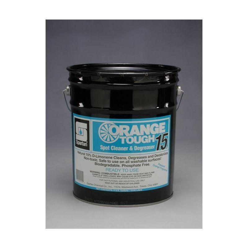 Spartan RTU Orange Tough 15 Industrial Cleaner, 5 gal pail