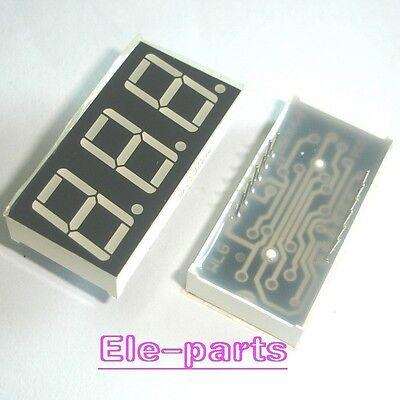 10 Pcs 3 Digits 0.56green Numeric Led Display 7 Seg Segment Common Cathode