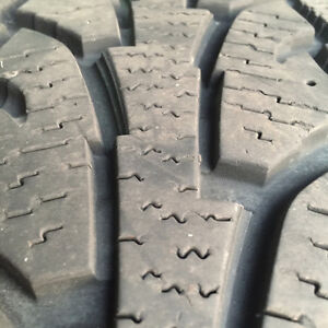 Winter tires 225 70 16 - used for 1 winter. LIKE NEW!! - $750