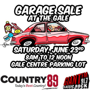 Garage Sale at the Gale!
