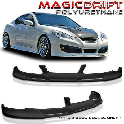 FIT FOR 10 11 12 HYUNDAI GENESIS COUPE PD FRONT BUMPER LIP SPOILER POLY -